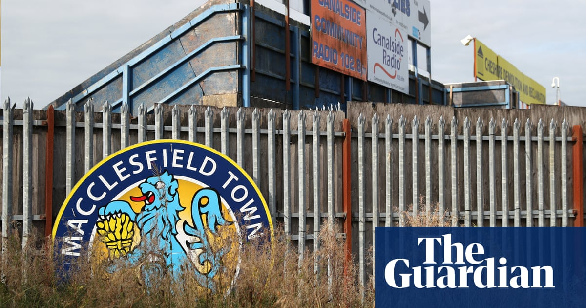 Macclesfield Towns demise was signposted but that doesnt make it less painful | John Brewin