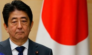 Japanese Prime Minister Shinzo Abe has become embroiled in a number of domestic political scandals.