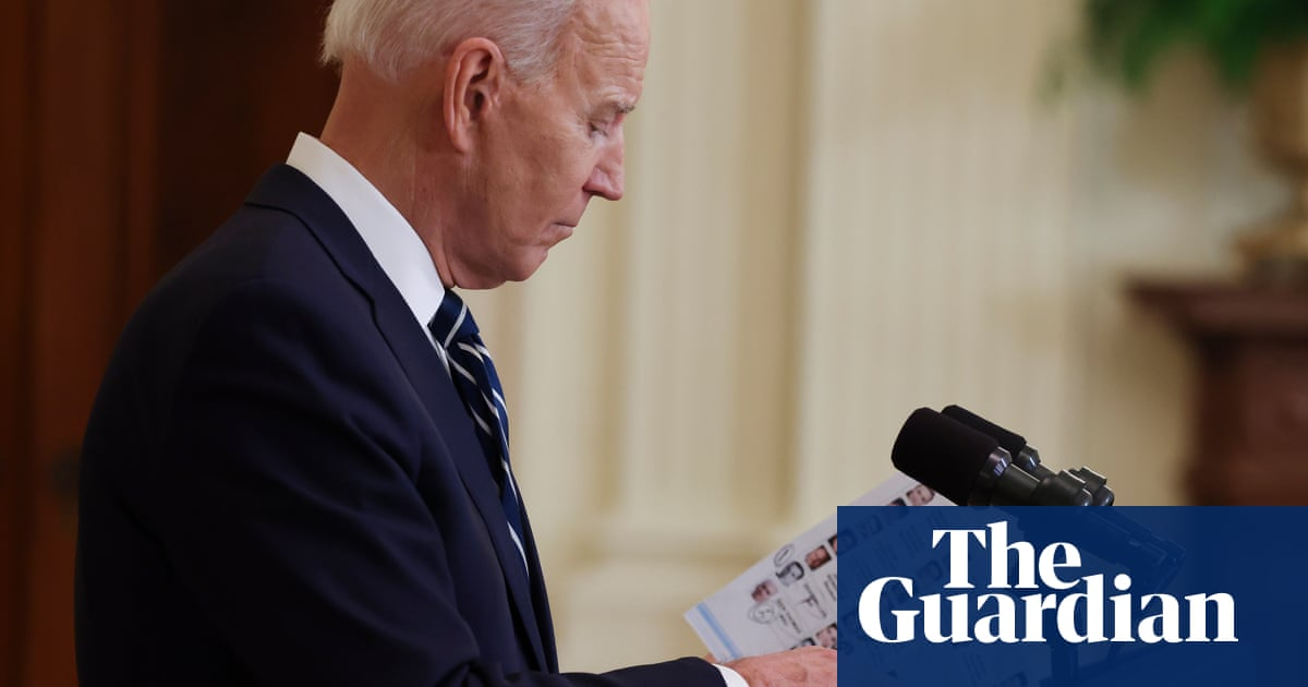 Scandal! Horror! Biden's press-briefing notes prompt rightwing outrage