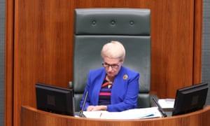 Bronwyn Bishop during question time