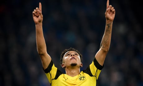 Jadon Sancho's stock rises higher and higher after a derby to remember | Andy Brassell