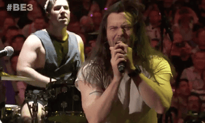 Andrew WK at Bethesda's E3 event