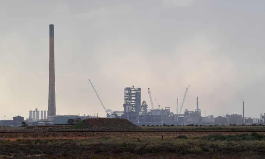 The Nyrstar smelter in Port Pirie, South Australia