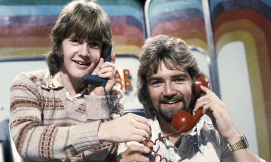 Keith Chegwin and Noel Edmonds on Swap Shop.