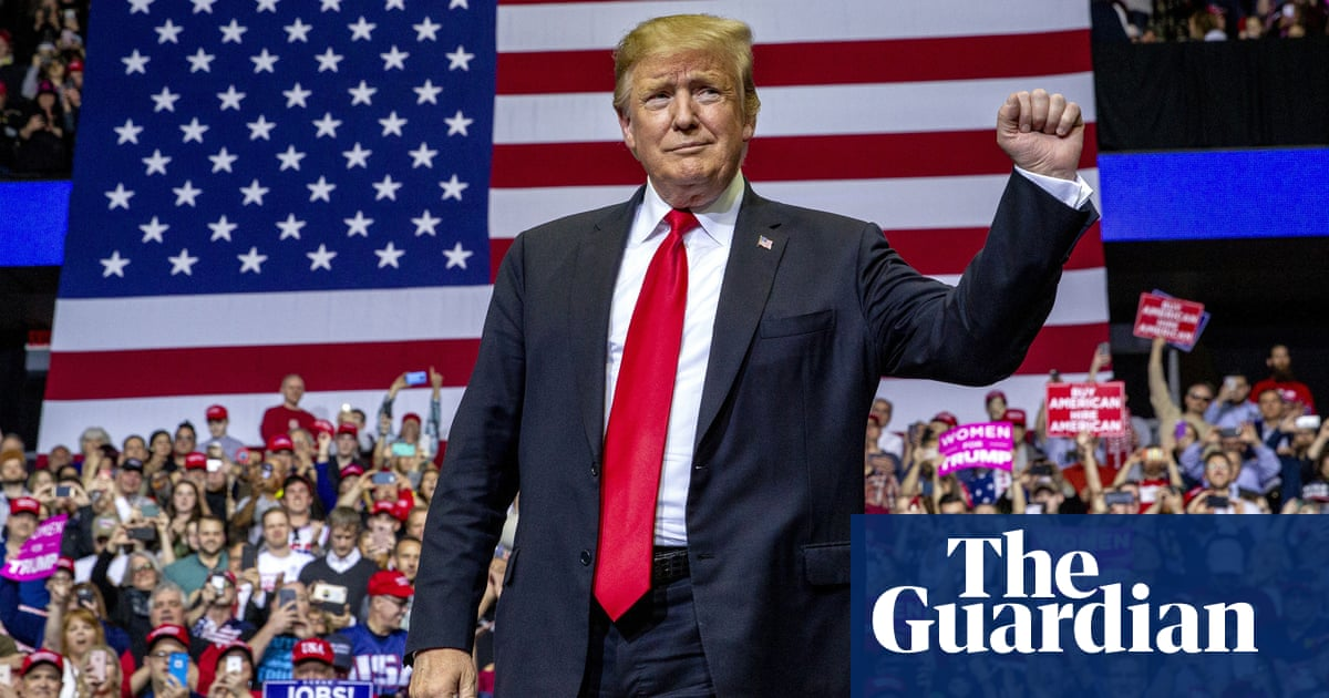 7478fa63 'Things are swinging his way': Trump takes Mueller victory lap in Michigan