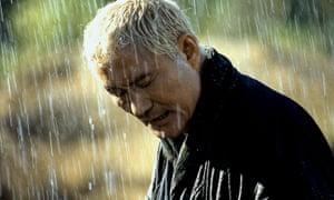 No laughing matter ... Takeshi Kitano in Zatoichi