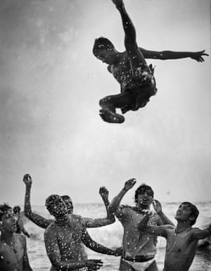 """Martin Bogren: Ocean 07, India, 2006Bogren was born 1967 in Sweden and is now based in Malmo. He spent the early 90s photographing bands and artists, touring with the Cardigans for several years. He has been called """"a master of the everyday""""."""
