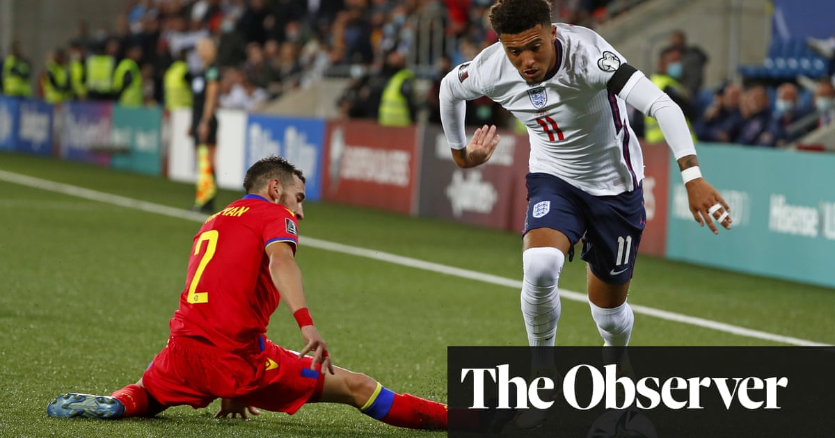 Phil Foden and Jadon Sancho rise above squabble to shine for England