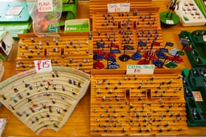 Subbuteo, oh oh oh oh! Fans of the classic football game