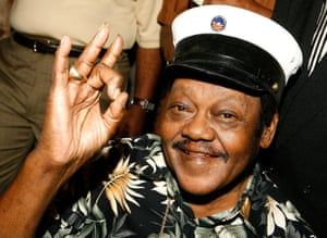 Fats Domino pictured in 2008.