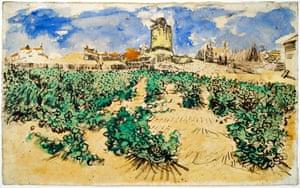 Van Gogh's Moulin d'Alphonse.