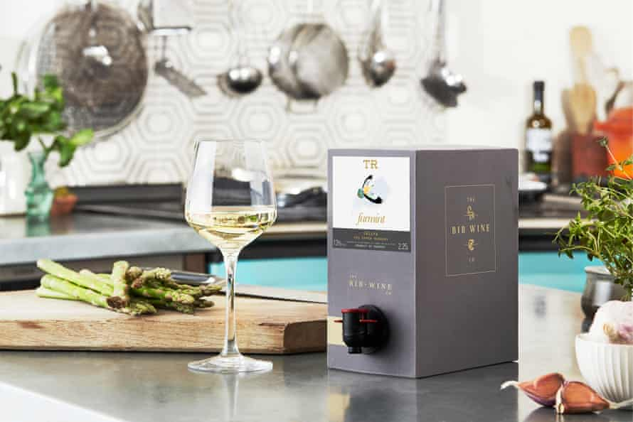 Wine box sales have been up 300% since lockdown.