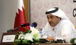 Qatar's attorney general Ali bin Fetais al-Marri