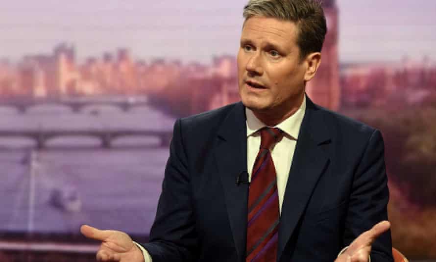 Labour's Brexit spokesman Kier Starmer