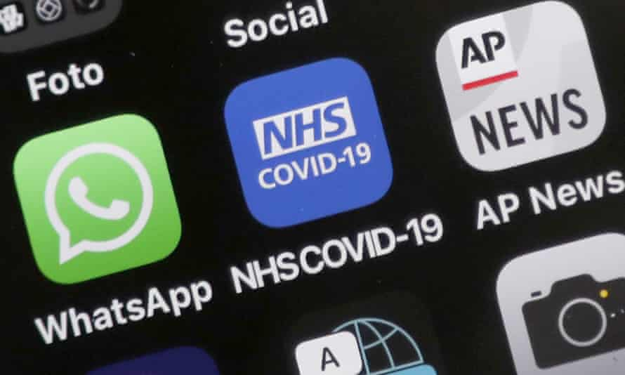 NHS Covid app icon