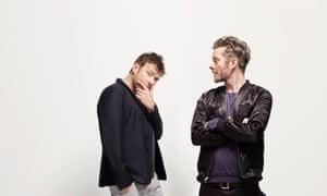 Damon Albarn and Jamie Hewlett