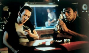 Joe Strummer and Rick Aviles in Mystery Train.