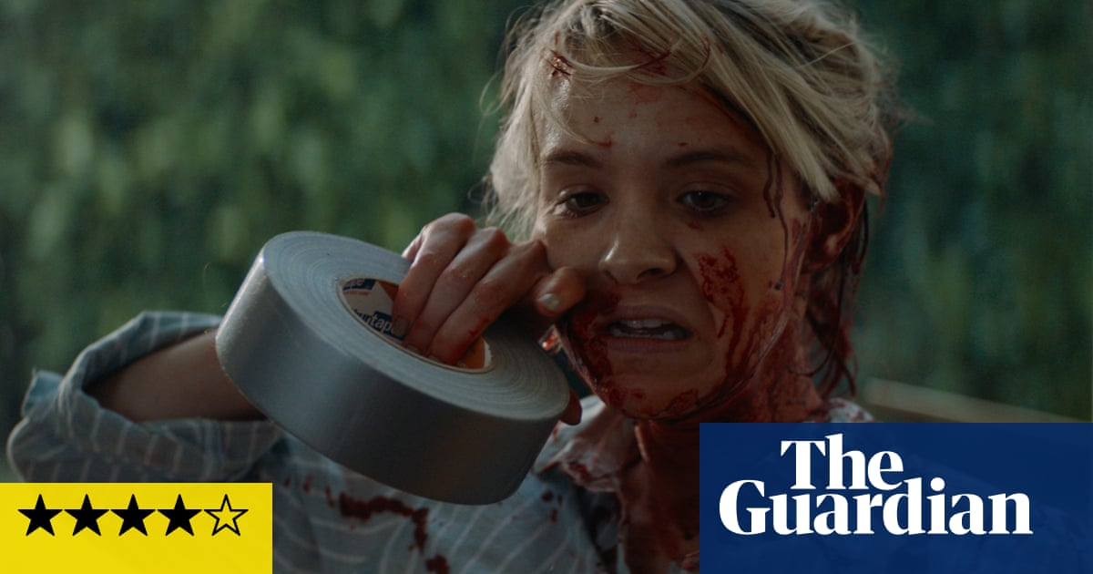 Lucky review – home-invasion horror thats a stand against violence, on repeat