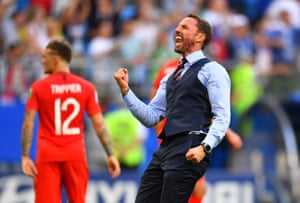 Southgate cracks out the fist pumps again.
