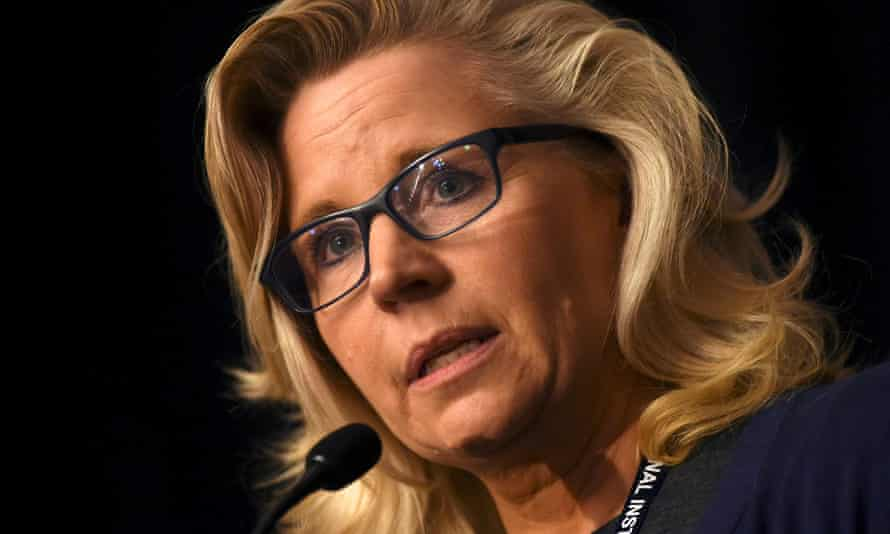 Liz Cheney is expected to be removed from her position as the No 3 House Republican.