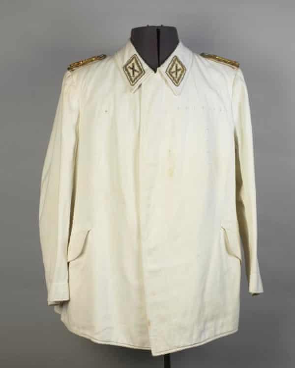 A self-designed uniform that belonged to Hermann Goering.