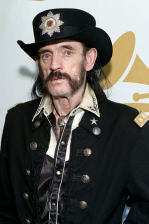 Lemmy in Los Angeles earlier this year for a Grammy ceremony.