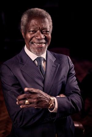 Kofi Annan in 2008.