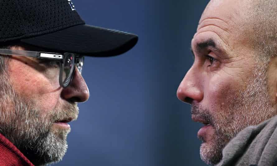 Jürgen Klopp and Pep Guardiola meet again at Anfield.