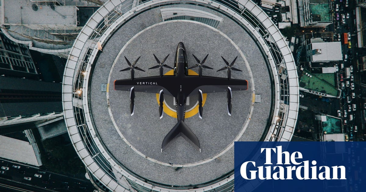 UK air taxi firm Vertical Aerospace to float on New York stock market