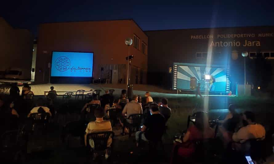 La Barraca de Cine has visited 45 villages so far this year.