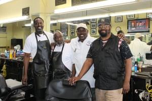 J Henry's barber shop