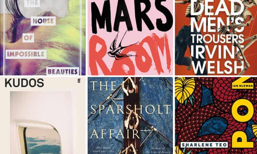 Could it be these? Six of the novels in contention for the 2018 Not the Booker prize.