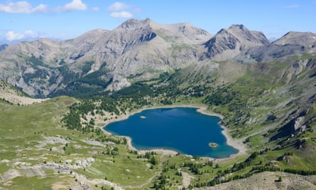 Lac d'Allos, in the Mercantour national park
