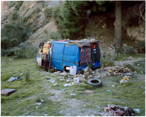 Pan's home, the Riverbed, Andalucia, 2012.