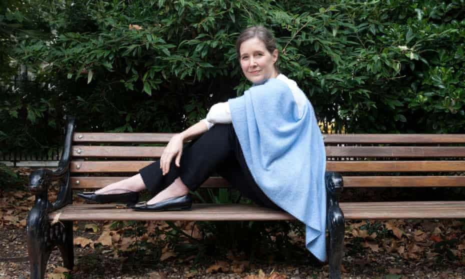 Ann Patchett, author, photographed in Bedford Square, Bloomsbury, London