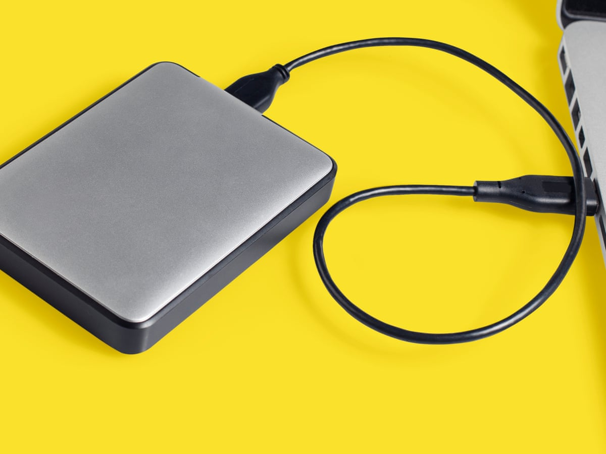 How To Make Windows 10 Recognise An External Hard Drive Computing The Guardian