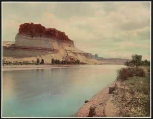 Bluffs of the Green River, Wyoming