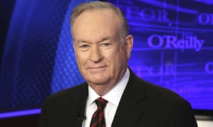 Bill O'Reilly on the set of his show in New York.