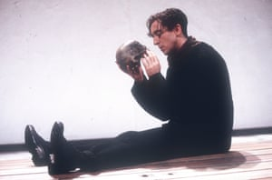 Alan Cumming (Hamlet) in Hamlet by English Touring Theatre at Donmar Warehouse, directed by Sam Mendes, in 1993.