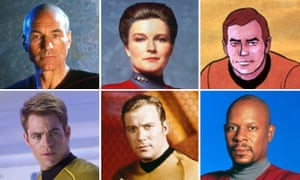The binge watch to end all binge watches … I've been to space with every last Star Trek commander.