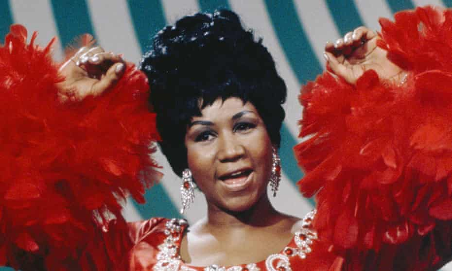 Aretha in 1969.