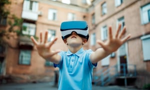 Reaching out to the future … but will VR really enhance our lives?