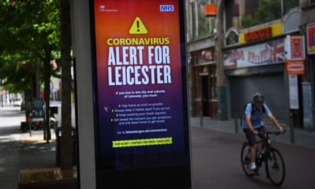 A public information notice in Leicester