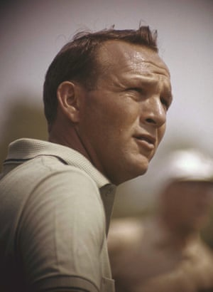28 January 1962. Arnold Palmer during the Lucky International Open at San Francisco's Harding Park.
