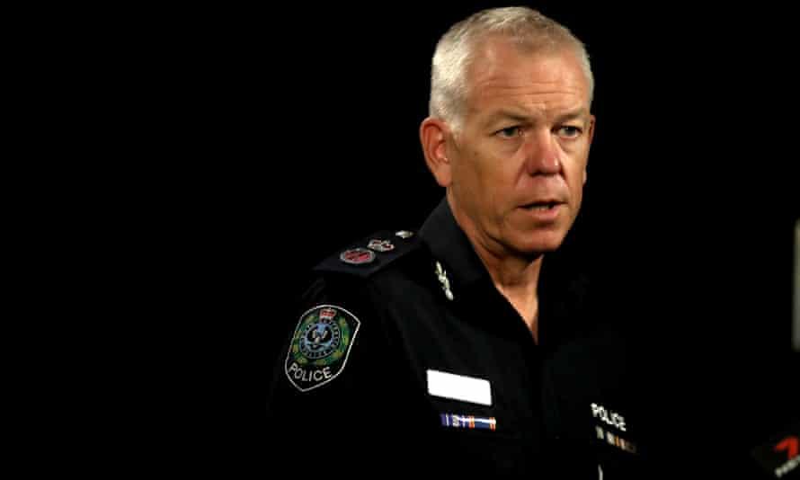 The South Australian police commissioner, Grant Stevens
