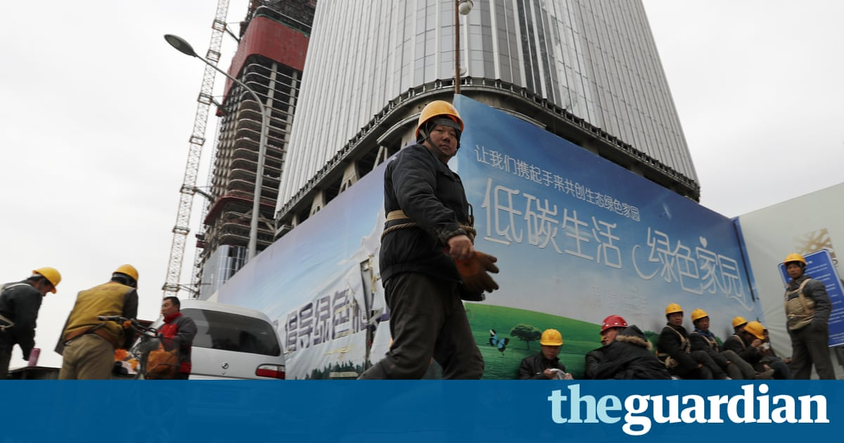 Chinese growth slips to 6.7% in 2016, the slowest for 26 years
