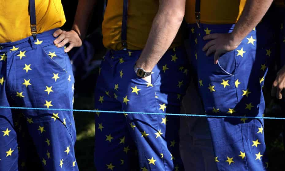 Ryder Cup fans, including a large British contingent, have embraced the unity of a pan-European team