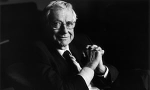 Barry Norman photographed for an Observer interview in 2001.