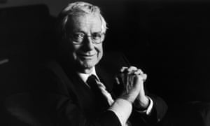Avuncular and knowledgable … the long-running host of Film, Barry Norman.