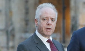 Jonathan Arkush speaks to reporters after the meeting with Jeremy Corbyn in April.